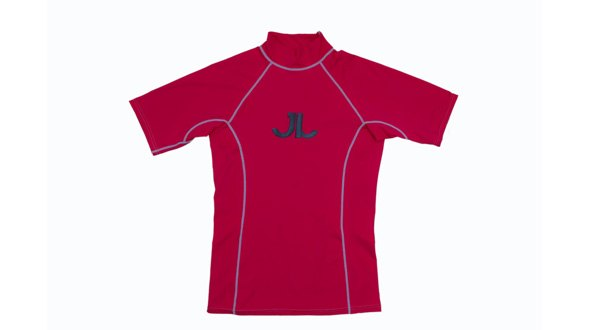 JN Rashguard Short Sleeve Red