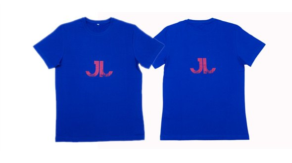 JN Men Logo Tee Blue