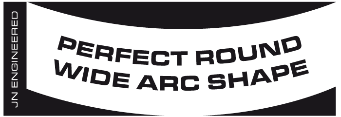 Perfect Round Wide Arc Shape