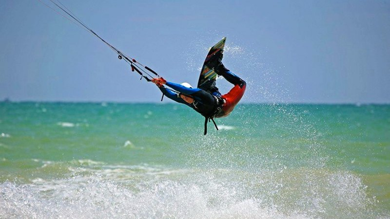 Harry Way British Kitesurfing Championships