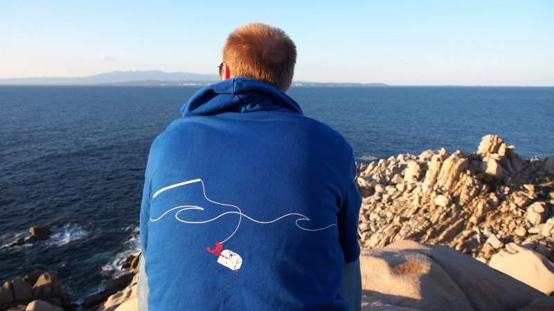 JN Hoody Martin Gevers Sardinia