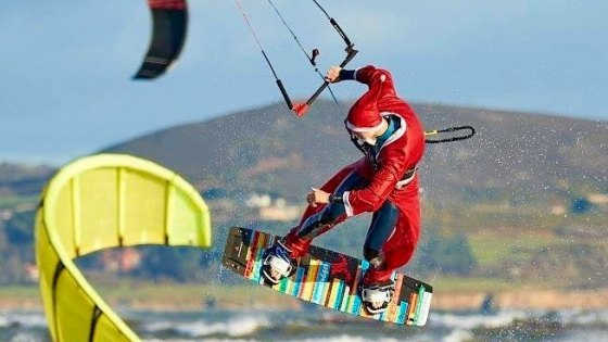 JN Christmas Kiting Conor Sealy