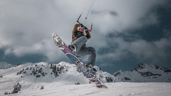 Eliska Parma Snowkite Obertauern JN Wild Thing